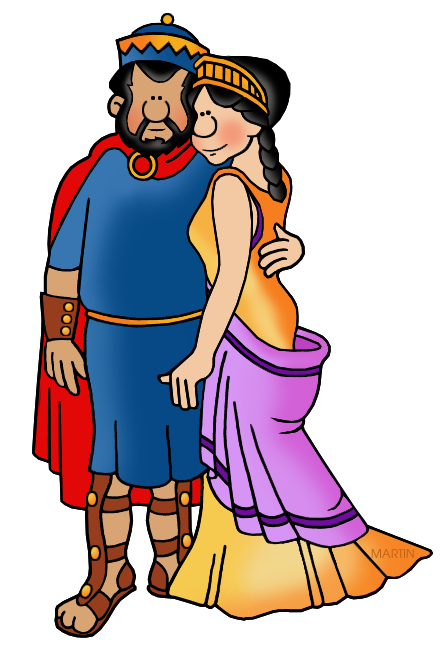King Minos and Ariadne